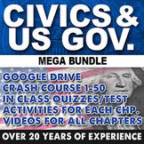 Civics and US Government Mega Bundle