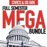 Civics and US Government Mega Bundle GOOGLE DRIVE ONLY
