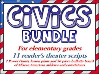 Civics bundle for elementary students