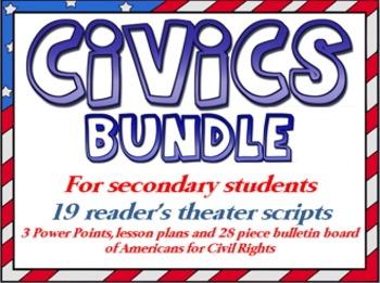 Civics bundle for secondary students