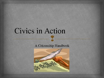 Civics in Action for The American Journey