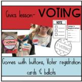 Civics lesson-voting