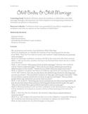 Civics/World Issues: Child Brides & Child Marriage