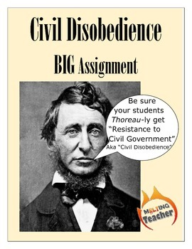 Civil Disobedience BIG Project