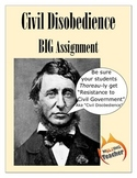 Civil Disobedience BIG Project