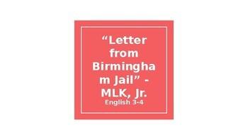 Civil Disobedience Close Reading - MLK Jr.
