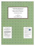 """Civil Disobedience"" - Henry David Thoreau - A Common Core"