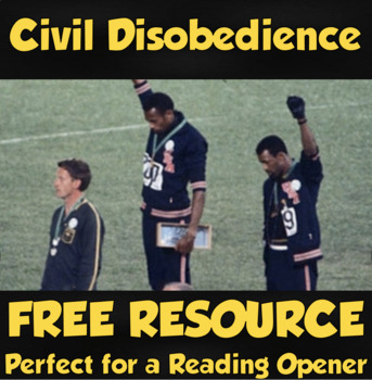 Civil Disobedience in the 1968 Olympics