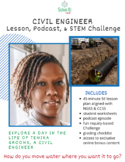 Civil Engineering Lesson, Challenge & Podcast: Moving Wate