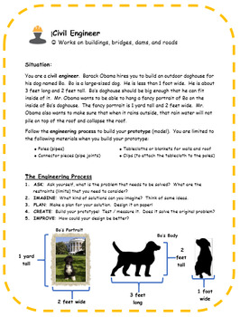 Civil Engineering Project: Build a Doghouse for Former President Obama's Dog Bo!