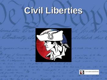 AP Gov Civil Liberties (Bill of Rights)  Flipped Unit