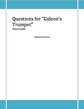 Civil Liberties-Gideon's Trumpet Video Guide