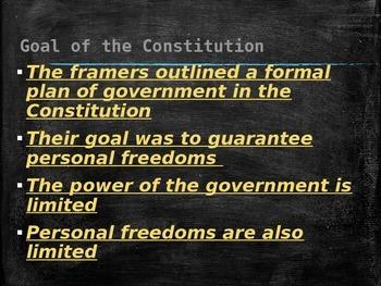 Civil Liberties Unit Power Point Lecture