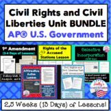 Civil Rights and Civil Liberties Unit BUNDLE: AP® U.S. Government