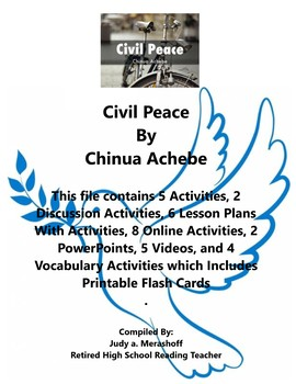 Civil Peace Chinua Achebe Short Story Teacher Supplemental Resources