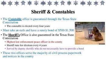Civil Processes Notes for Law Enforcement II