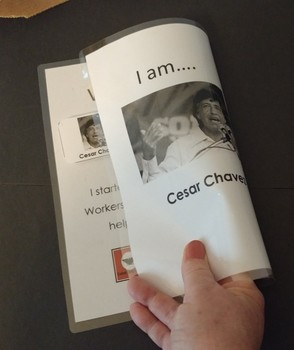 Civil RIghts Flip Book - Who Am I?