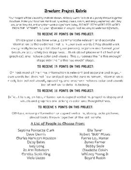 Civil RIghts Movement Brochure Project