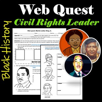 Civil Right Leaders: Web quest