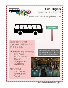 Civil Rights Lesson 4 - Bus Boycott
