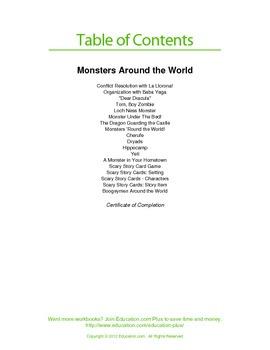 Monsters Around the World