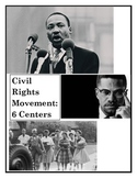 Civil Rights Movement Centers-1960s