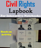 Black History Month Foldable: Civil Rights Movement: Martin Luther King Jr.