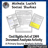 Civil Rights Act of 1964 Document Primary Source Analysis