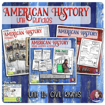 Civil Rights Activities Bundle - US History