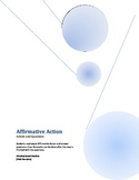 Civil Rights-Affirmative Action Article and Questions