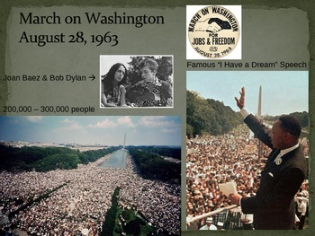 Civil Rights: African American Resistance PowerPoint