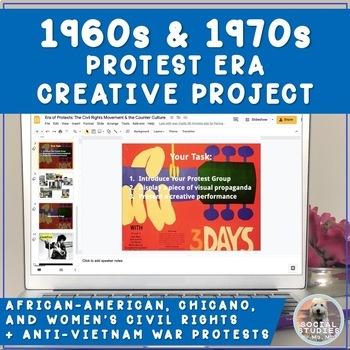 Civil Rights/Anti-Vietnam Protest Groups:Era of Social Change Woodstock Sim.