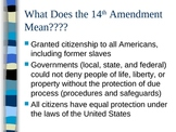 Civil Rights Background Information PowerPoint