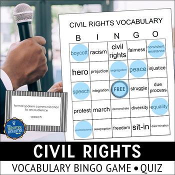 Civil Rights Bingo