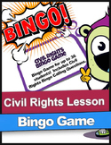Civil Rights Bingo Game | Up To 36 Students | Black History Month