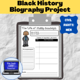 Civil Rights Biographies Project-Men