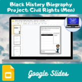 Civil Rights Biographies Project-Men (Google Slides)