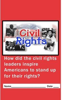 Civil Rights Biography Writing
