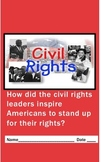 Civil Rights Biography Writing