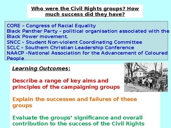 Civil Rights - Black History