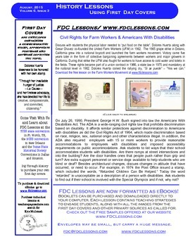 Newsletter - Civil Rights - Cesar Chavez and Americans With Disabilities