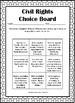Civil Rights Choice Board
