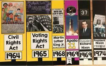 Civil Rights Classroom Timeline SS5H8