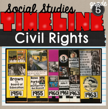 Civil Rights Classroom Timeline SS5H6
