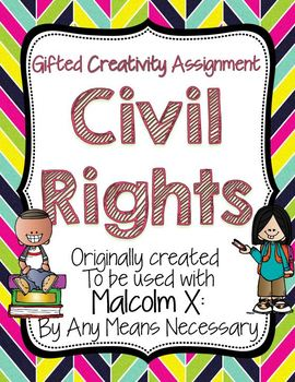 Civil Rights Creativity Assignment