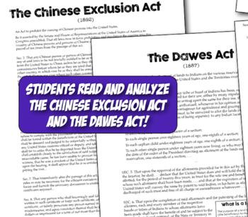 Civil Rights & Emma Lazarus in Progressive Era! Dawes Act & Chinese Exclusion!
