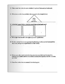 Civil Rights Movement: Jim Crow Era Literacy Test (with Answers)