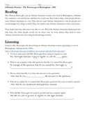 Civil Rights - Four Domain Language Practice