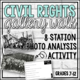 Civil Rights Gallery Walk (Visual Literacy Exercise)
