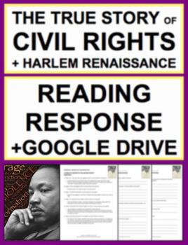 Civil Rights & Harlem Renaissance Reading Response, Answer ...